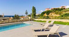 Villa Aiolos - Authentic Crete, Villas in Crete, Holiday Specialists Crete, Outdoor Furniture, Outdoor Decor, Villas, Sun Lounger, Bedrooms, Home Decor, Chaise Longue, Decoration Home