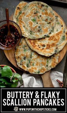 Buttery Scallion Pancakes- Buttery Scallion Pancakes Save Images Quick and Easy Buttery & Flaky Scallion Pancakes Recipe made with puff pastry! Buttery Scallion Pancakes Quick and Easy Buttery & Flaky Scallion Pancakes Recipe made with puff pastry! Best Pancake Recipe, Pancake Recipes, Coffe Recipes, Vegetarian Recipes, Cooking Recipes, Asian Cooking, Clean Eating Snacks, Food Hacks, Food Tips