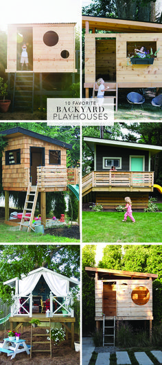 10 Favorite Backyard Playhouses