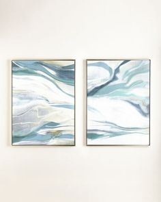 "H8EU8 ""Cream Dream"" Giclees, 2-Piece Set"