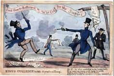 As a result, the Duke of Wellington and Winchilsea fought a duel in Battersea Park in March 1829. They deliberately missed each other in firing, and honor was satisfied. The duke had a much less enlightened position on parliamentary reform. He defended rule by the elite and refused to expand the political franchise.  His fear of mob rule was enhanced by the riots and sabotage that followed rising rural unemployment.