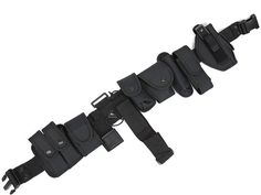 63.47$  Watch here - http://alimif.worldwells.pw/go.php?t=32439341096 - Multifunctional outdoor Training Police duty belt Security Belts Holster Magazine Pouch Set Black Airsoft Tactical Belt 63.47$