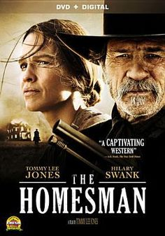 February 17, 2015. The homesman [videorecording(DVD)]. When three women living on the edge of the American frontier are driven mad by harsh pioneer life, the task of saving them falls to the pious, independent-minded Mary Bee Cuddy. Transporting the women by covered wagon to Iowa, she soon realizes just how daunting the journey will be, and employs a low-life drifter, George Briggs, to join her.