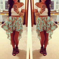 ♥♥ i love the skirt!