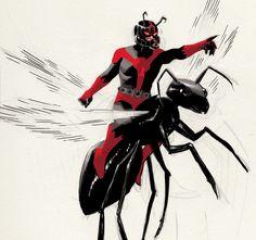 feedmecomicart:  Ant-Man byDaniel Acuña   *