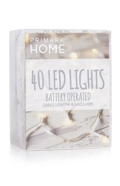 40 LED Battery-Operated Lights