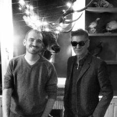 Etienne Daho avec Florian Delisle