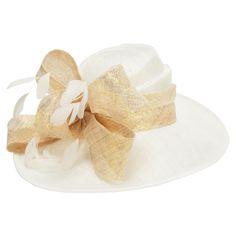 Emma B Metallic Bow and Feather Hat #VonMaur   has to be one of my favorites