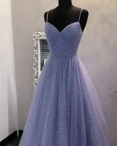 Lilac Prom Dresses, Pretty Prom Dresses, Lilac Dress, Tulle Prom Dress, Formal Evening Dresses, Formal Gowns, Homecoming Dresses, Evening Gowns, Ball Gowns Prom