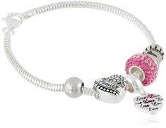 Sterling Silver Love of a Family is Life's Greatest Blessing Bead Charm Bracelet***Altho this pin is not of my work ....PLEASE visit my Gallery at:  rose-santucisofranko.artistwebsites.com .... and my store at:    http://www.zazzle.com/artists4god?rf=238686044861169565