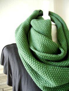 LIX PERLE:  Lix Yarn Pine Green Dark/Light Grey by LIXPERLE