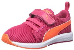 PUMA Carson Runner V Kids Sneaker (Toddler/Little Kid/Big Kid) ** Additional info @ http://www.amazon.com/gp/product/B0176FHTC8/?tag=lizloveshoes-20&gh=170716011524