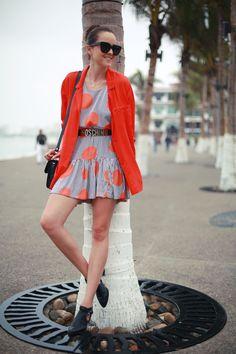 ASOS dress, H & M blazer, vintage Moschino belt, Senso shoes Asos Dress, Zara Dresses, Moschino Belt, Style Scrapbook, H&m Trends, Types Of Skirts, Got The Look, Proenza Schouler, High Tops
