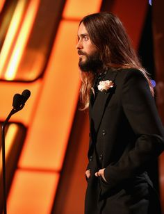Jared Leto Photos: Backstage at the 18th Annual Hollywood Film Awards