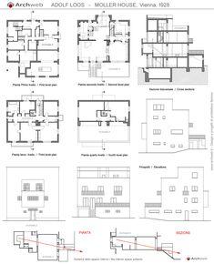 Corbusier maison roche jeanneret dwg archi pinterest for Progetto casa autocad