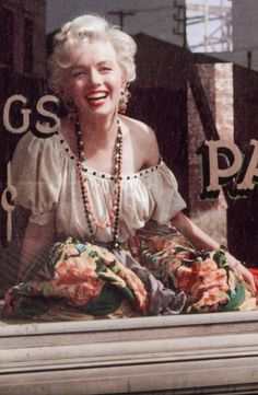 Marilyn Monroe photographed by Milton H. Greene, 1956