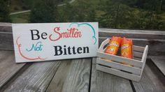 Be Smitten Not Bitten Outdoor or Beach Wedding by SawmillCreations