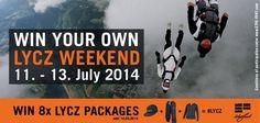 Win your #LYCZ Weekend! #etrefort #lycz #skydiving #speedflying #win #contest www.etre-fort.com/lycz Skydiving, Comfort Zone