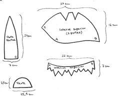 Resultado de imagen para moldes para cotillon de goma espuma Sombreros De  Goma Espuma 4f72ac7f043