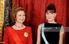 Queen Sofia of Spain in The Niarchos Ruby Tiara