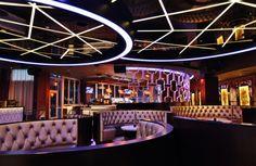 Bubble - Hotel, Restaurant & Nightclub Design by Big Time Design Studios Nightclub Bar, Nightclub Design, Lounge Design, Bar Lounge, Luxury Bar, Champagne Bar, Time Design, Big Time, Kid Friendly Meals