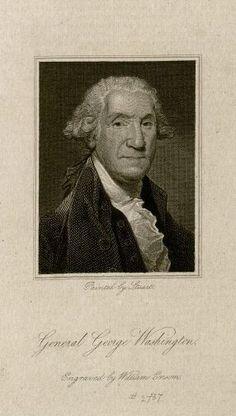 Washington Portraitist | Portrait of George Washington. MS Hyde 76 2.6.478