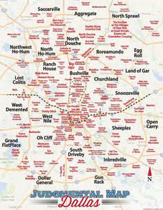 San Antonio Judgmental Map