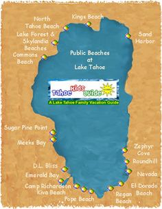 Best Beaches at Lake Tahoe
