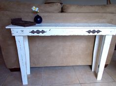 Made to Order. Sofa Table Console Table Distressed by CharismaGift, $125.00