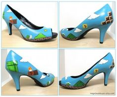 Mario Shoes - I could make these work with EVERYTHING!