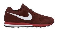 Nike MD Runner 2, Herren Sneakers, Rot (Team Red/White-University Red 616), 41 EU