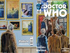 Four Doctors #1 (Twilight Comics Variant by David Carr).