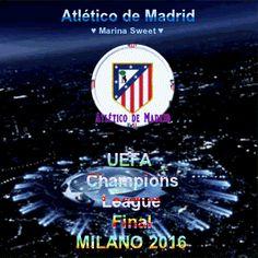 Atlético de Madrid UEFA Champions League Final 2016 Gif ♥ #MarinaSweet ♥