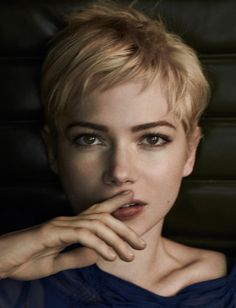 bedhead hair for pixies: Michelle Williams - HoBo #13 by Mark Segal, Summer 2011 (Pastel Hair Ends)