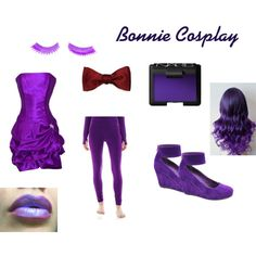 Bonnie's cosplay by fnaf-team142 on Polyvore featuring PacificPlex, Napoleon Perdis and NARS Cosmetics