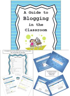 A complete start-up guide to incorporating blogging into any classroom. Walk-though and PowerPoint.