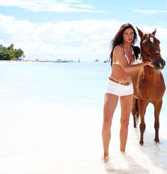 Girls Gone Swimming - Adriana Lima behind the scenes look of the photo shoot at Palomino Island as featured on the @victoriassecret Swim Special which filmed in Puerto Rico.