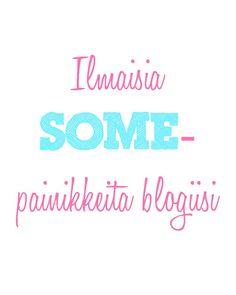 Ilmaisia SOME-painikkeita blogiin!  #blogi #bloggaus #bloggaaminen