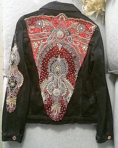 Indian Black Denim Jacket