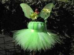 Toddler Tinker Bell costume