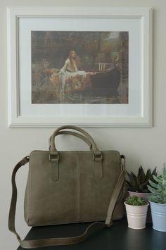 Spring Wardrobe Update: New Leather Burkely Filippa Ipad Bag