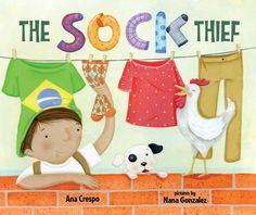 Ana Crespo Books | THE SOCK THIEF