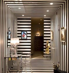 Black & White - Entry Hall