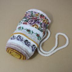 Viktoria. A folk bag by Peony And Parakeet.
