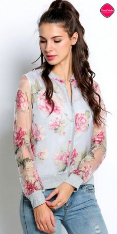 New Stylish Floral Printed Fall Fashion Woman's Jacket, Get Additional 10% Off your first order at www.pescimoda.com Shipping all over United States. #WomansFallFashion #TeensFallFashion #TeensFallOutfits #TeensFallFashionOutfits #FallOutfits #FallFashion2016 #Stylish #Cute #BohoChic #ChicFashion #FloralJackets #FloralCoats #FallFashion #BohoFashion #FallCollection #WomansFashion #WomansFallOutfits #WomansFallFashion2016 #BohoFashion #Pink #Jackets #Coats #Cardigans