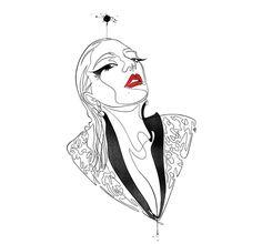 maddalena-carrai-illustratrice-ladygaga
