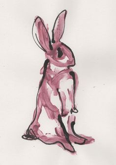 Jen Moules Rabbit Illustration