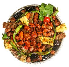 Tüm ızgarada pişen yemeklerin belirli ölçülerde servis edilen halidir. Belirli ölçüleri yoktur, ancak restoranlar kendi menülerinde bulunan ızgara çeşitlerini karıştırarak elde ederler. Yanında sumaklı soğan, közlenmiş biber ve domates ile servis yapılır. Konya Urfa Sofrası Restaurant'ta Afiyetle Yenir.