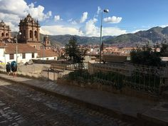 You must love all the little plaza's in Cusco, with great view over the city!!