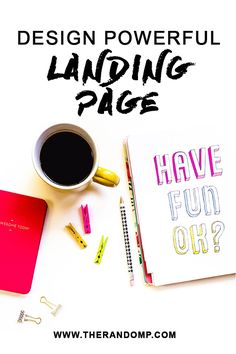 Learn to design effective landing page all on your own: http://therandomp.com/blog/design-effective-landing-page